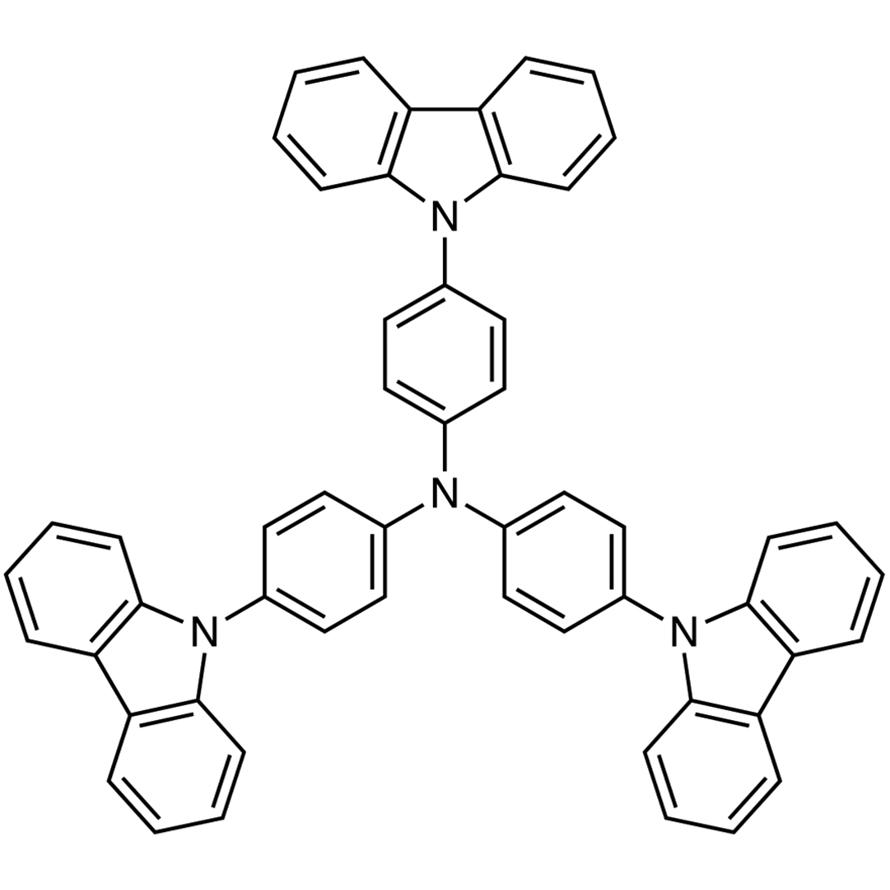 4,4',4''-Tri-9-carbazolyltriphenylamine (purified by sublimation)
