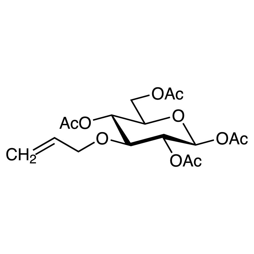 1,2,4,6-Tetra-O-acetyl-3-O-allyl--D-glucopyranose