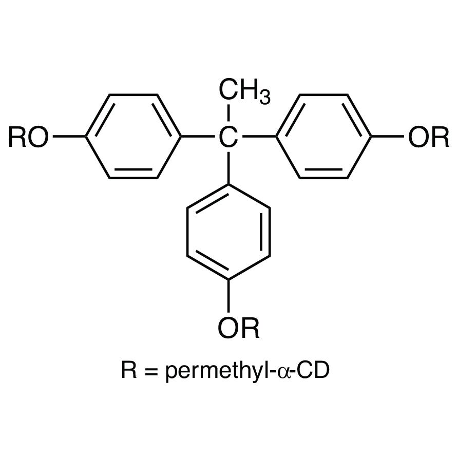1,1,1-Tris[4-(per-O-methyl--cyclodextrin-6-yloxy)phenyl]ethane