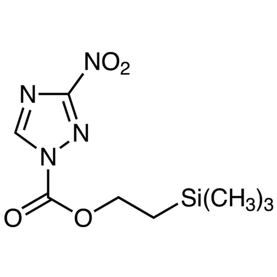 2-(Trimethylsilyl)ethyl 3-Nitro-1H-1,2,4-triazole-1-carboxylate