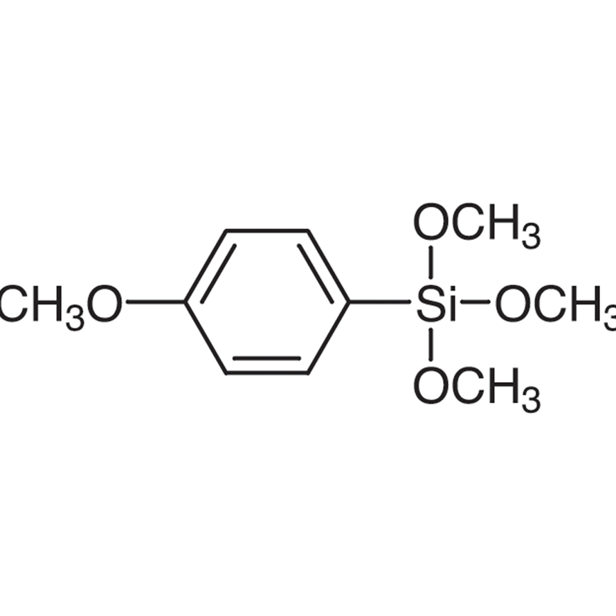 Trimethoxy(4-methoxyphenyl)silane