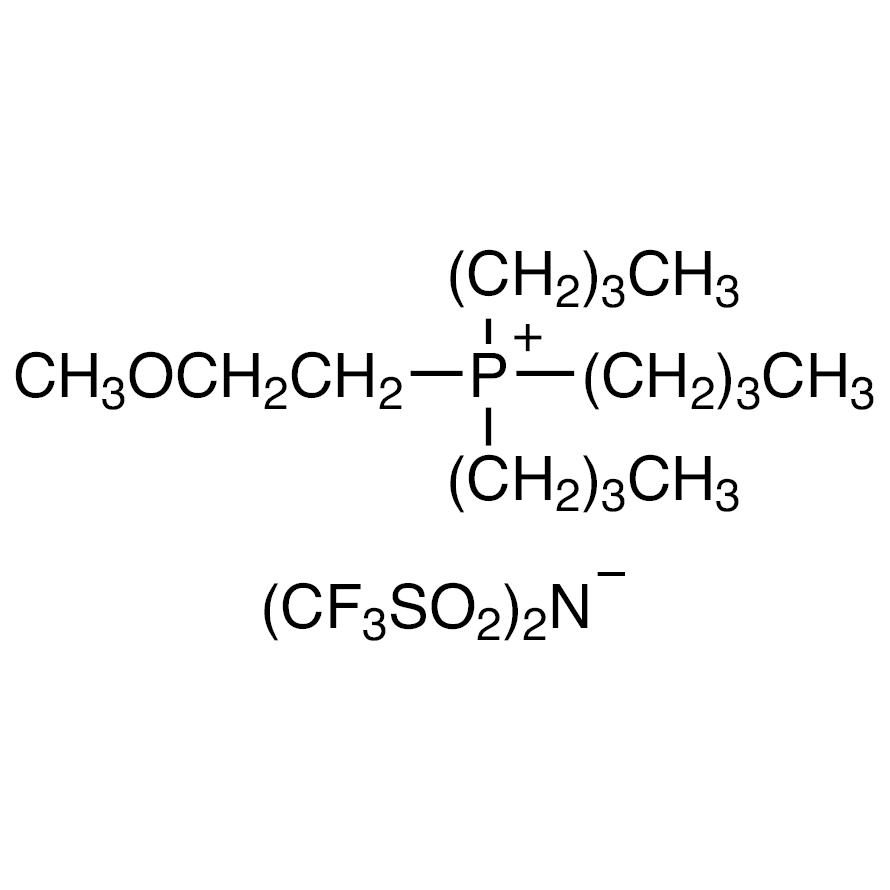 Tributyl(2-methoxyethyl)phosphonium Bis(trifluoromethanesulfonyl)imide