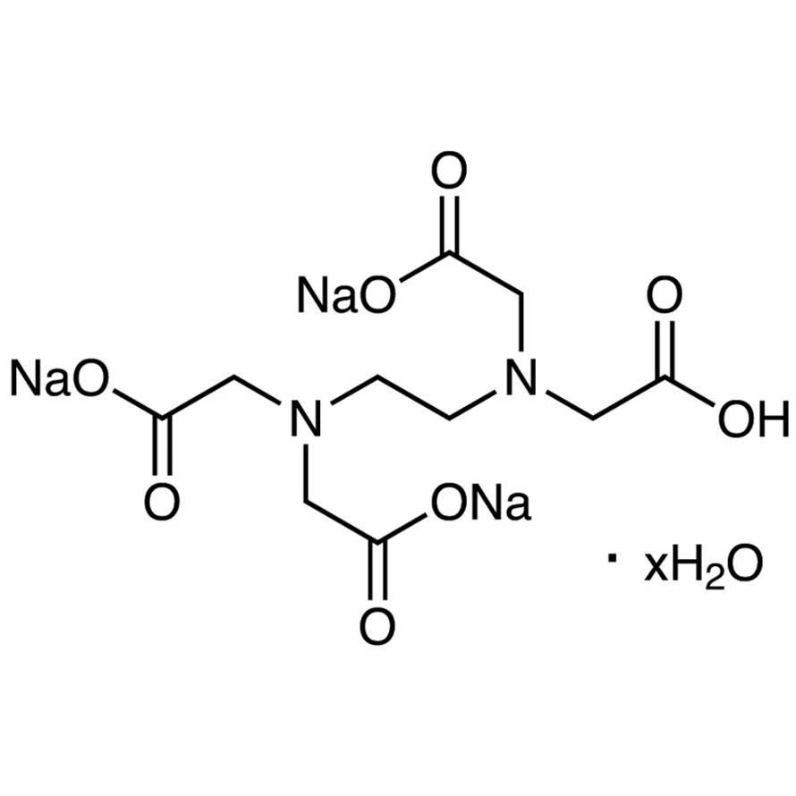 Trisodium Hydrogen Ethylenediaminetetraacetate Hydrate [for Biochemical Research]
