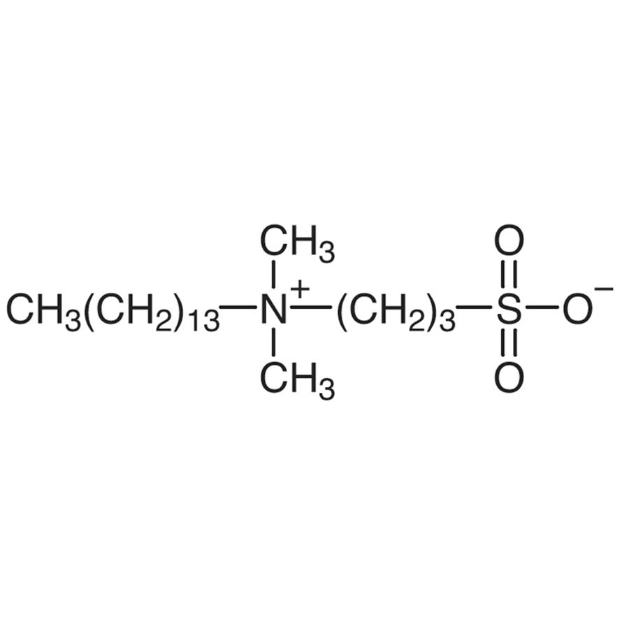 Tetradecyldimethyl(3-sulfopropyl)ammonium Hydroxide Inner Salt [for Biochemical Research]