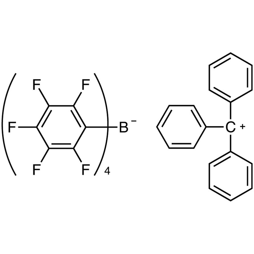 Triphenylmethylium Tetrakis(pentafluorophenyl)borate