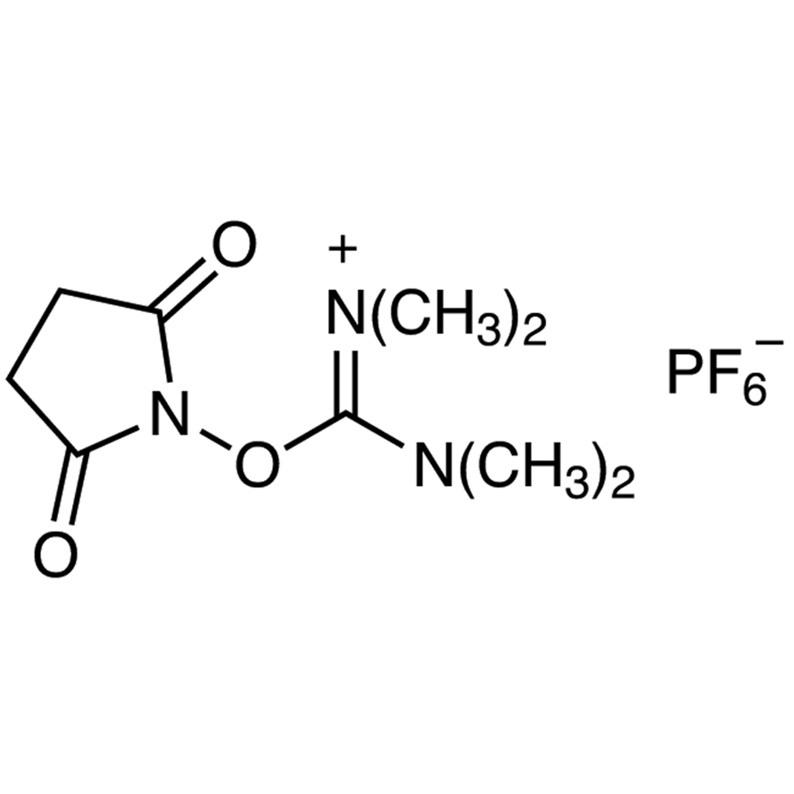 N,N,N',N'-Tetramethyl-O-(N-succinimidyl)uronium Hexafluorophosphate