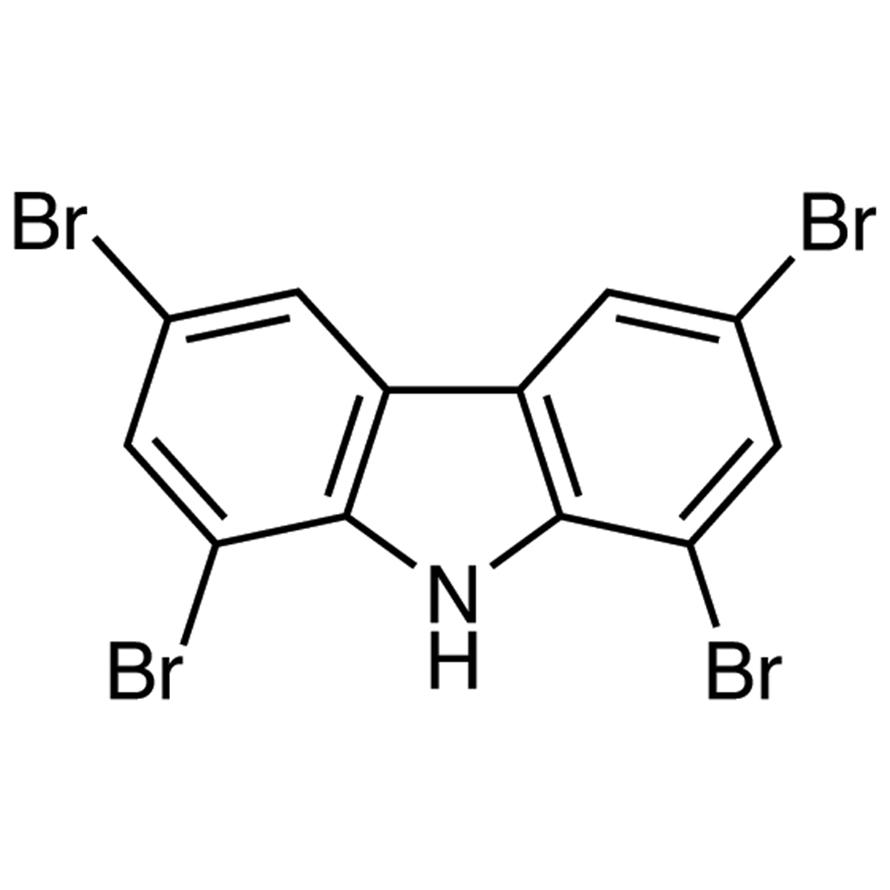1,3,6,8-Tetrabromocarbazole