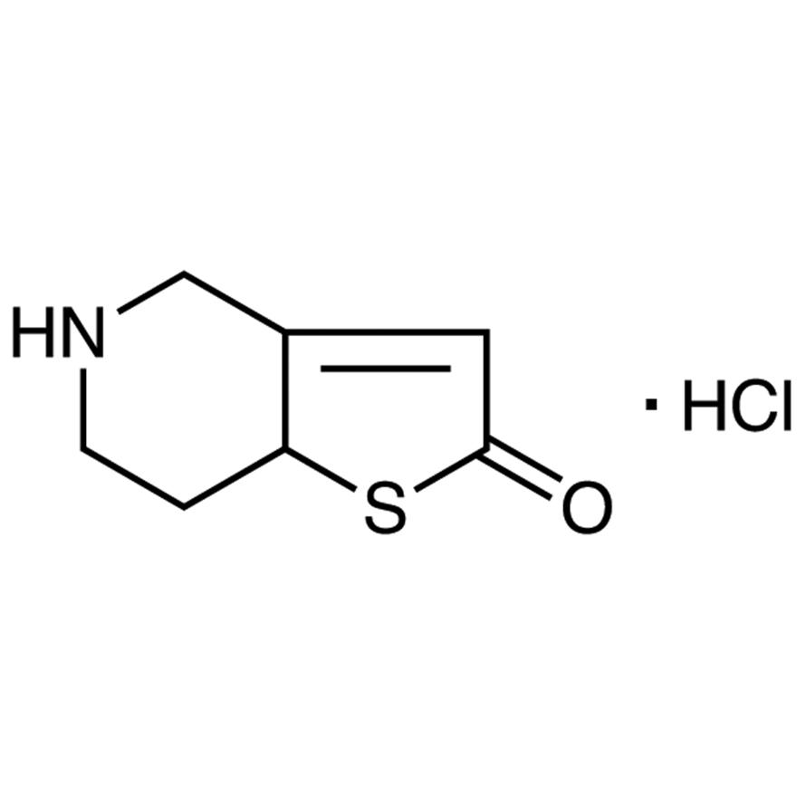 5,6,7,7a-Tetrahydrothieno[3,2-c]pyridin-2(4H)-one Hydrochloride