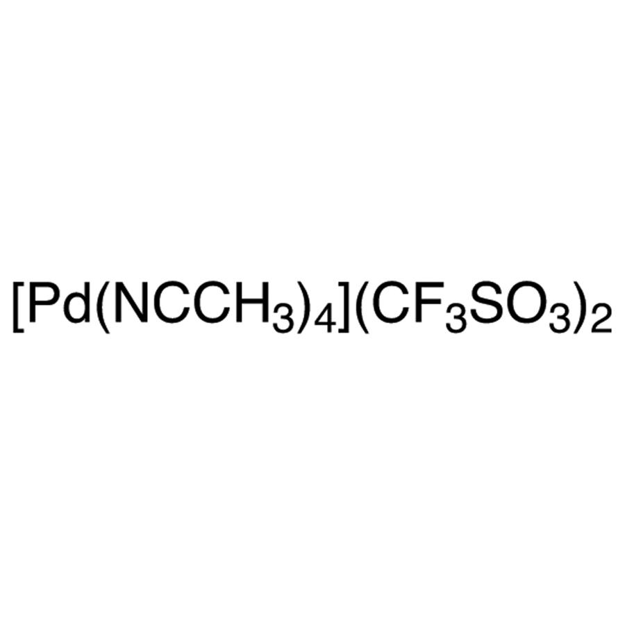 Tetrakis(acetonitrile)palladium(II) Bis(trifluoromethanesulfonate)