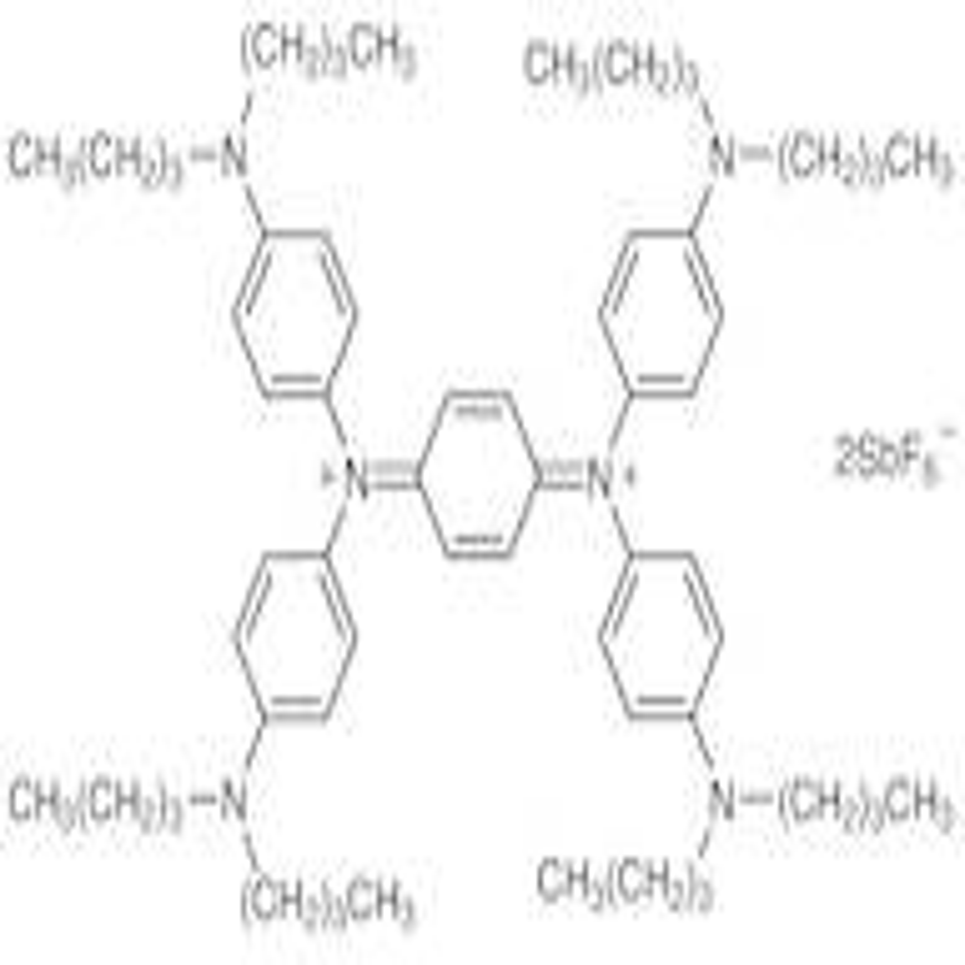 N,N,N',N'-Tetrakis(4-dibutylaminophenyl)-1,4-benzoquinone Diiminium Bis(hexafluoroantimonate)