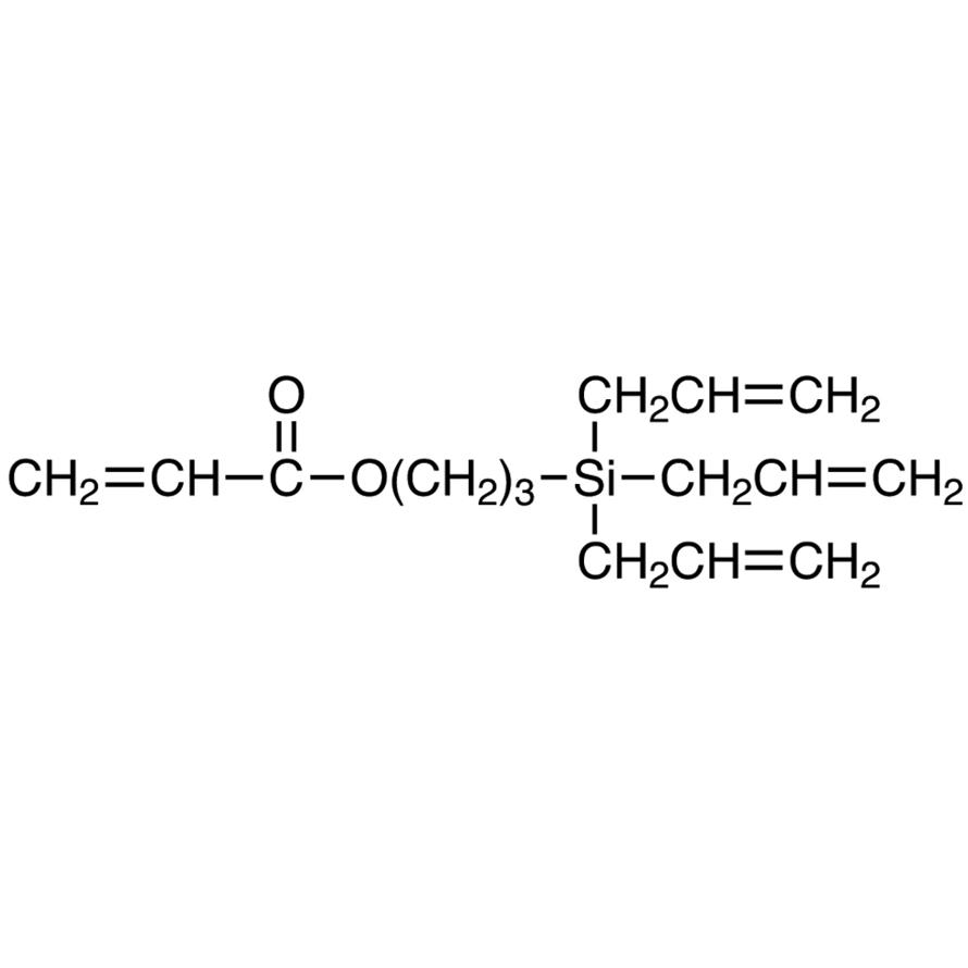 3-(Triallylsilyl)propyl Acrylate (stabilized with MEHQ)