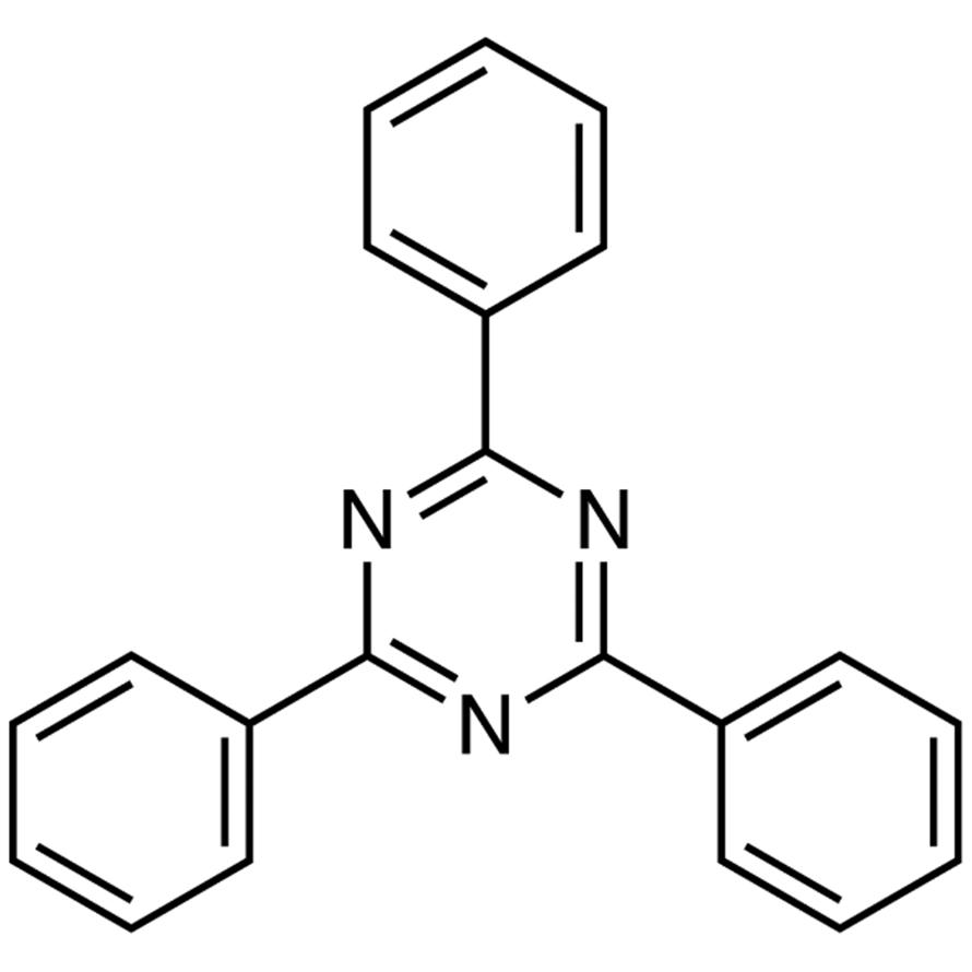 2,4,6-Triphenyl-1,3,5-triazine (purified by sublimation)