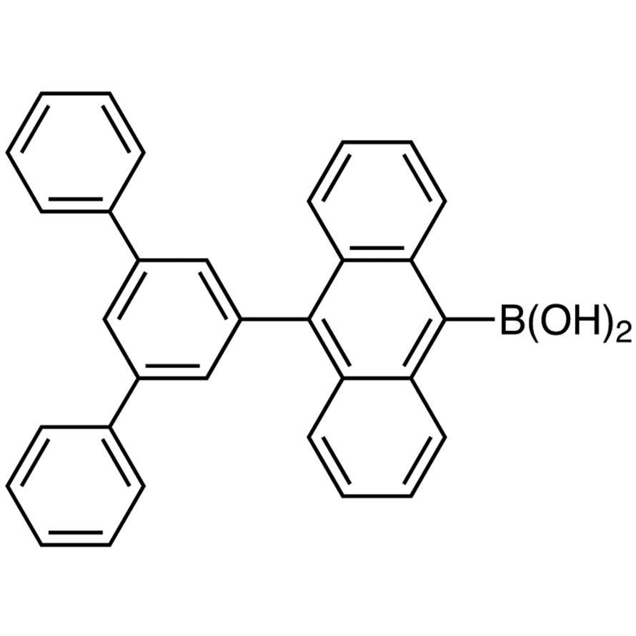 10-(1,1':3',1''-Terphenyl-5'-yl)anthracene-9-boronic Acid (contains varying amounts of Anhydride)