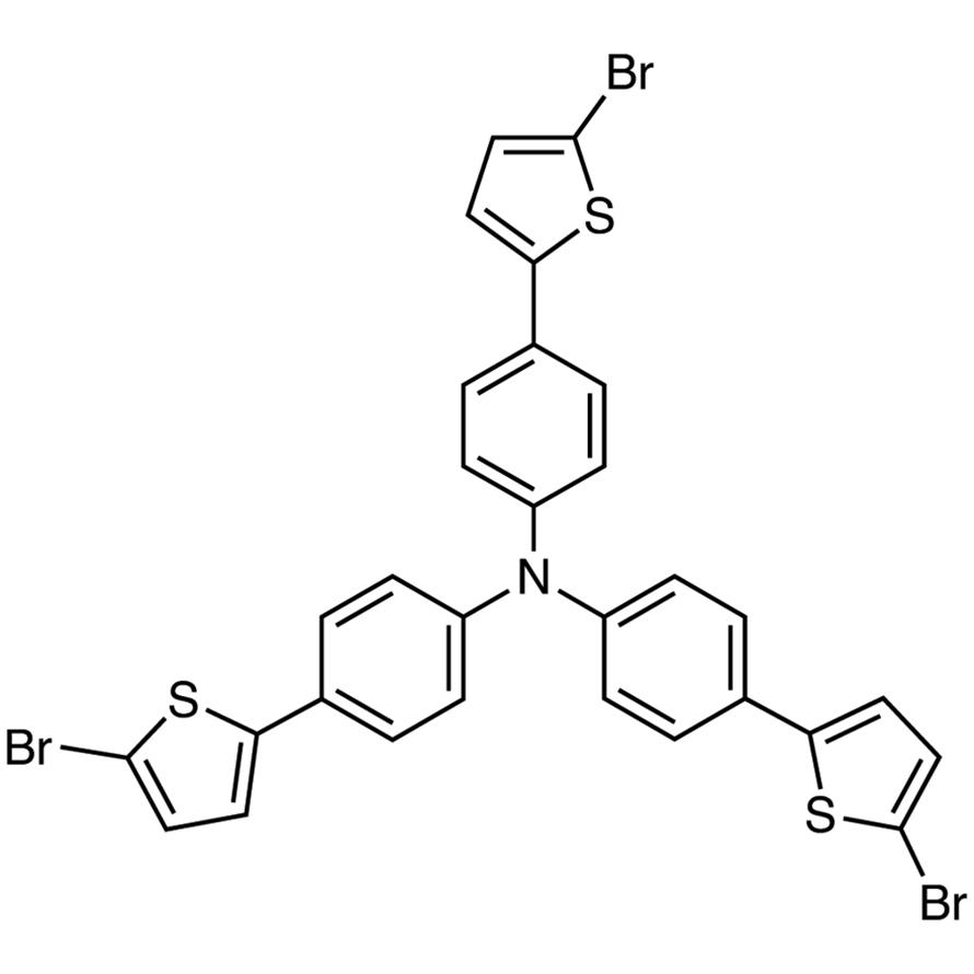 Tris[4-(5-bromothiophen-2-yl)phenyl]amine