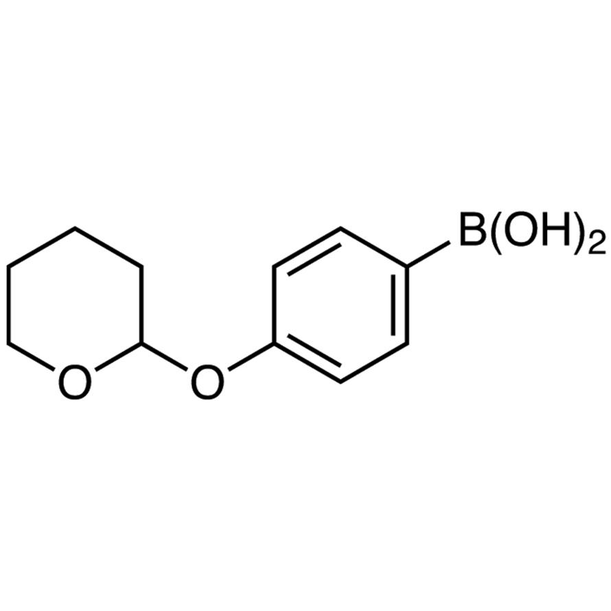 4-(Tetrahydro-2H-pyran-2-yloxy)phenylboronic Acid (contains varying amounts of Anhydride)