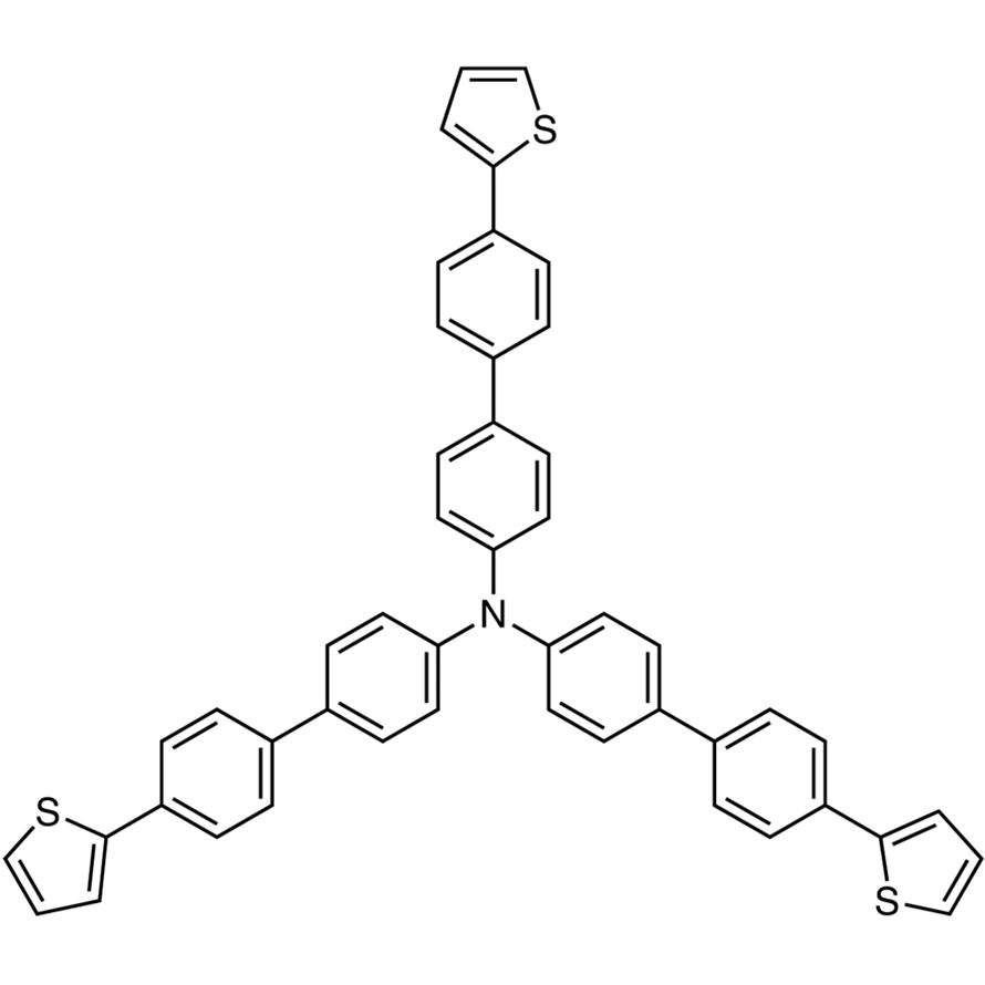 Tris[4'-(2-thienyl)-4-biphenylyl]amine
