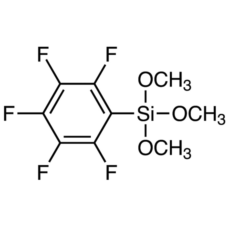 Trimethoxy(pentafluorophenyl)silane