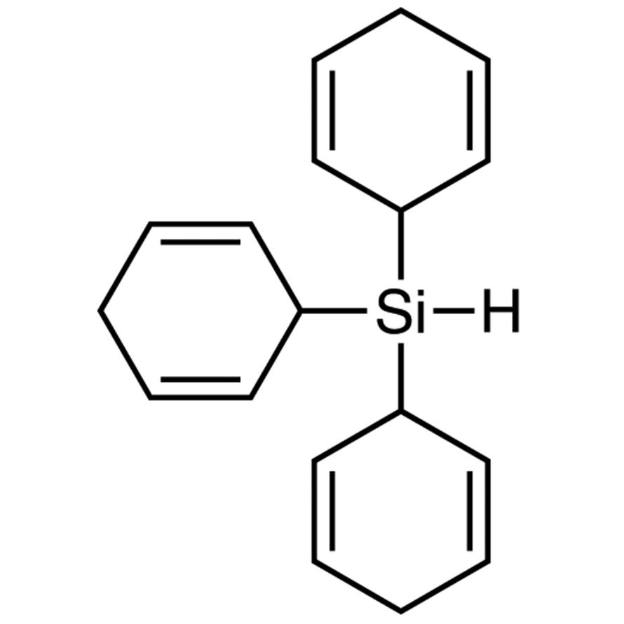 Tri(cyclohexa-2,5-dien-1-yl)silane