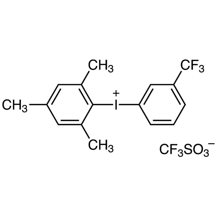 [3-(Trifluoromethyl)phenyl](2,4,6-trimethylphenyl)iodonium Trifluoromethanesulfonate