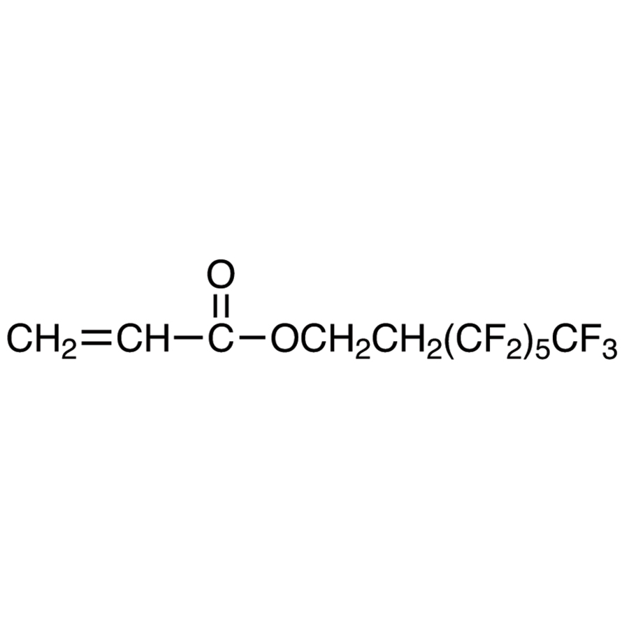 1H,1H,2H,2H-Tridecafluoro-n-octyl Acrylate (stabilized with HQ + MEHQ)