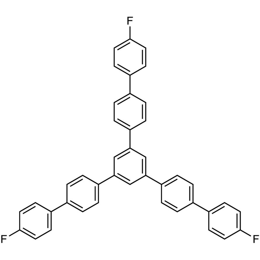1,3,5-Tris(4'-fluorobiphenyl-4-yl)benzene