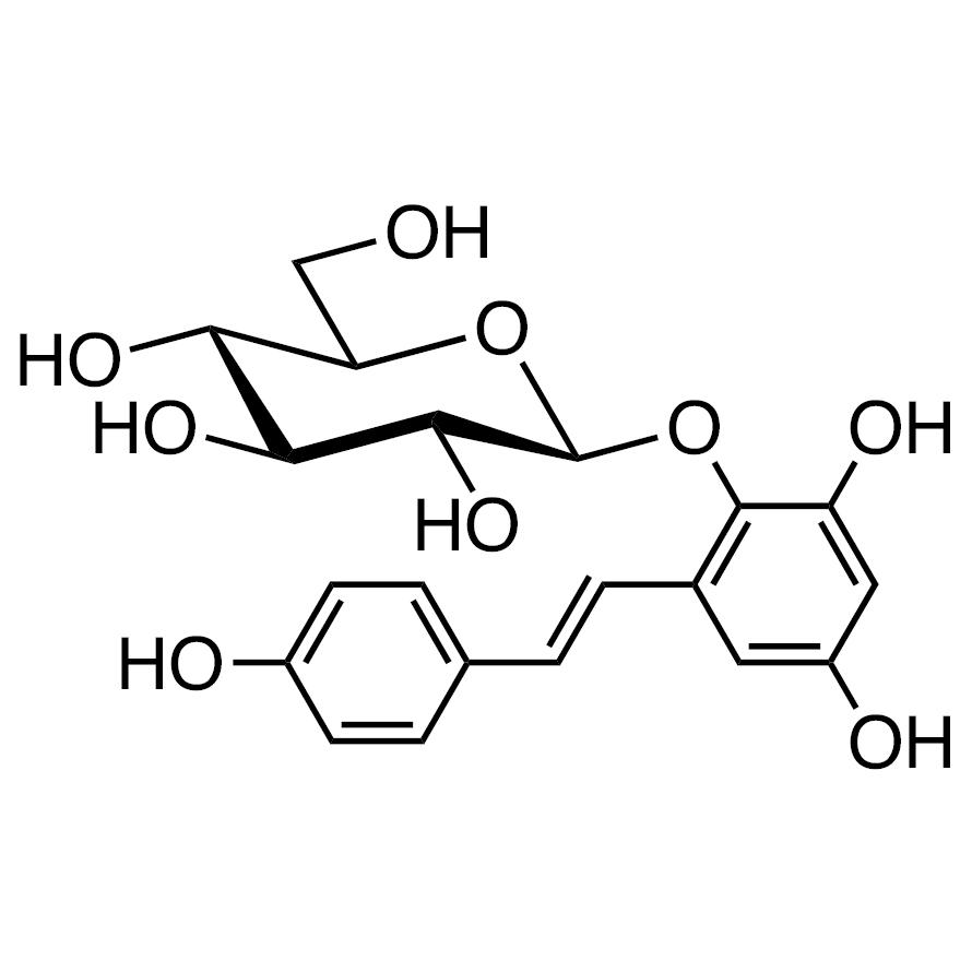2,3,5,4'-Tetrahydroxystilbene 2-O--D-Glucoside