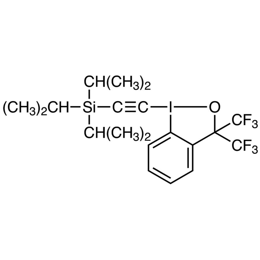 1-[2-(Triisopropylsilyl)ethynyl]-3,3-bis(trifluoromethyl)-1,2-benziodoxole