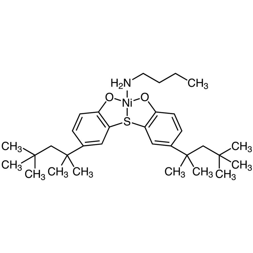 (Butylamine)[2,2'-thiobis(4-tert-octylphenolato)]nickel(II)