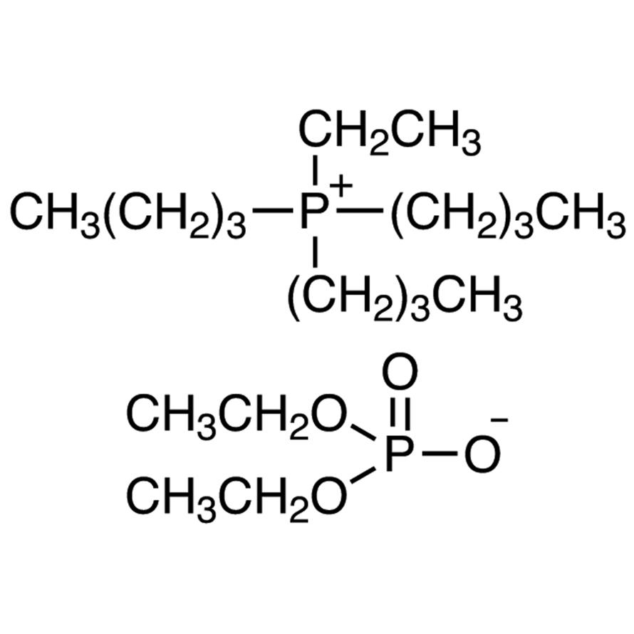 Tributyl(ethyl)phosphonium Diethyl Phosphate