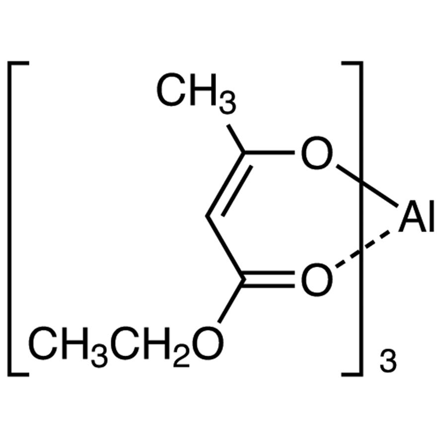 Tris(ethyl Acetoacetato)aluminum(III) (contains ca. 2% 2-Butanol at maximum)