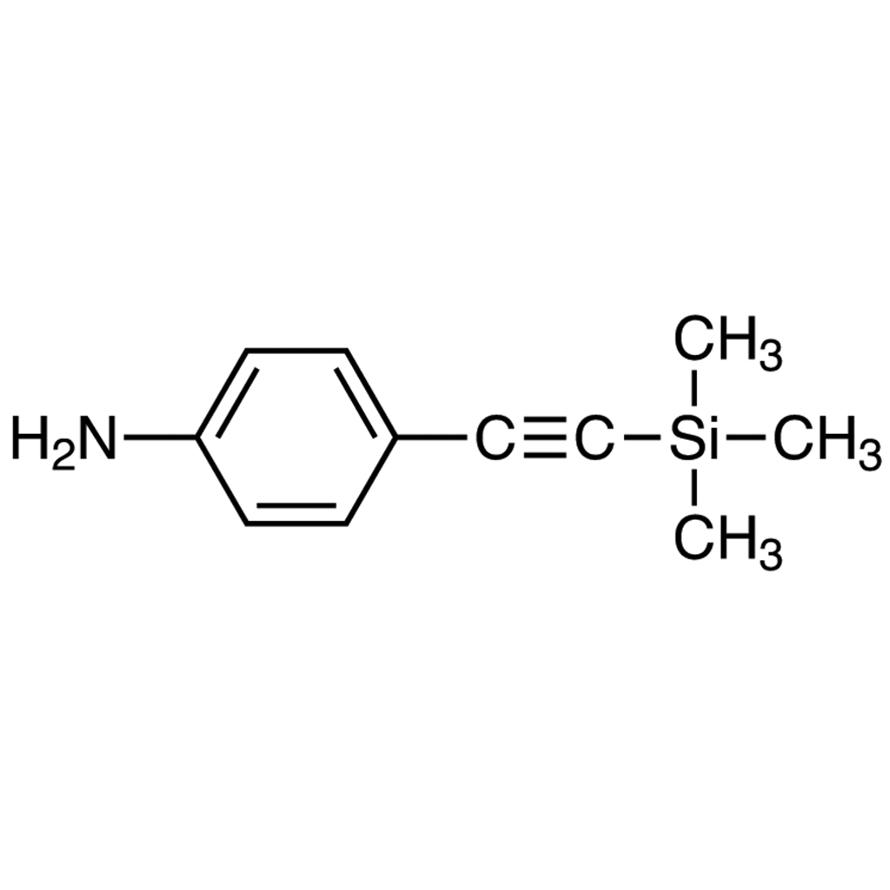 4-[(Trimethylsilyl)ethynyl]aniline