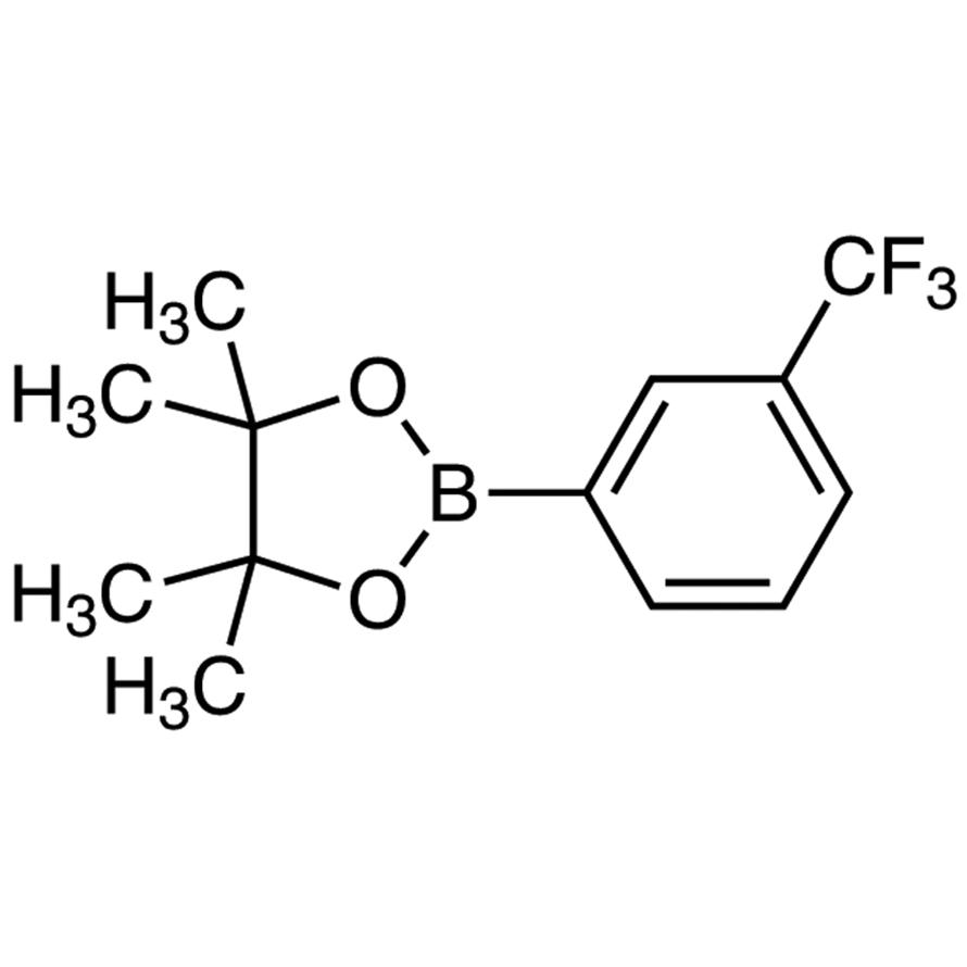4,4,5,5-Tetramethyl-2-[3-(trifluoromethyl)phenyl]-1,3,2-dioxaborolane