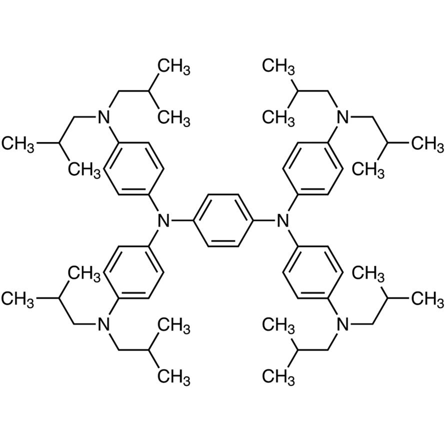 N,N,N',N'-Tetrakis[4-(diisobutylamino)phenyl]-1,4-phenylenediamine
