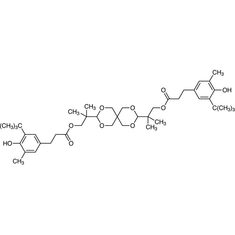 2,4,8,10-Tetraoxaspiro[5.5]undecane-3,9-diylbis(2-methylpropane-2,1-diyl) Bis[3-[3-(tert-butyl)-4-hydroxy-5-methylphenyl]propanoate]