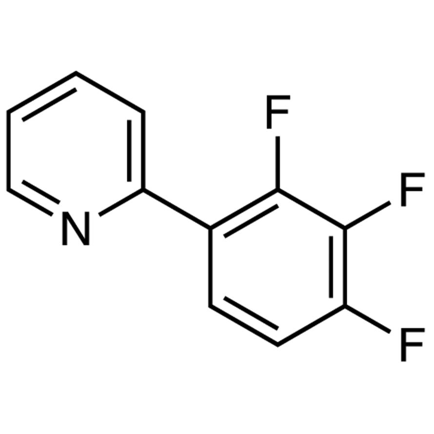 2-(2,3,4-Trifluorophenyl)pyridine