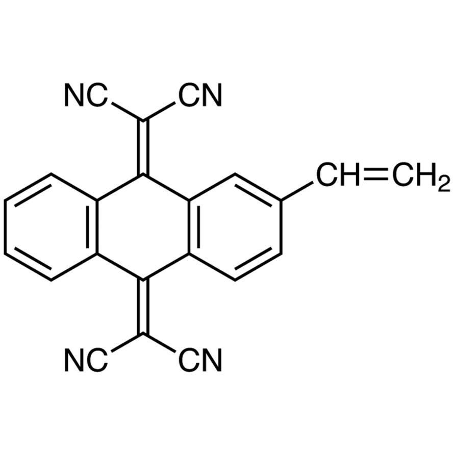 2,2'-(2-Vinylanthracene-9,10-diylidene)dimalononitrile
