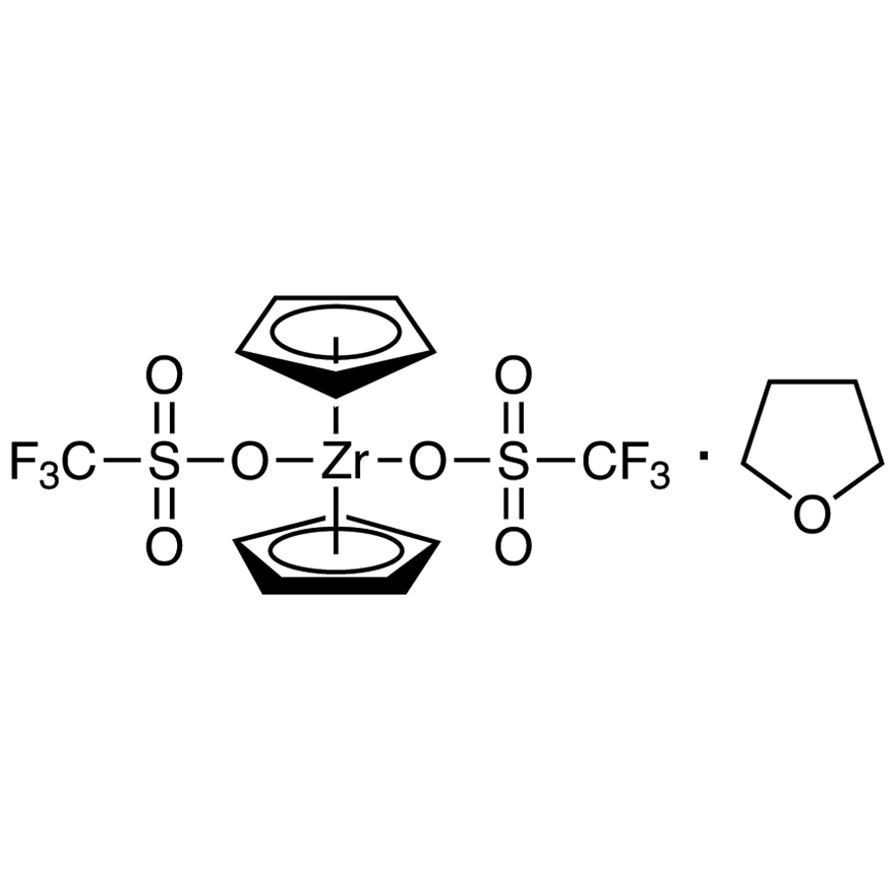Zirconocene Bis(trifluoromethanesulfonate) Tetrahydrofuran Adduct