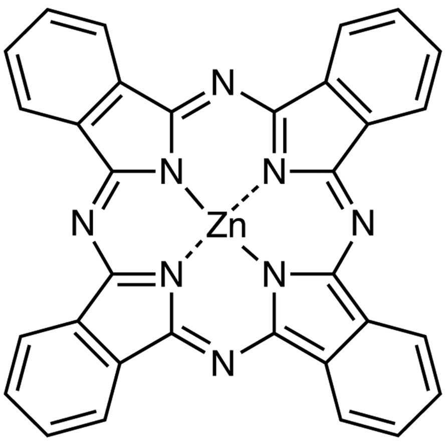 Zinc Phthalocyanine (purified by sublimation)