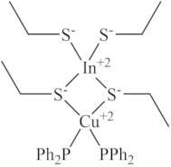 INDIUM COPPER BIS(ETHYLTHIOLATE)TRIPHENYLPHOSPHINE COMPLEX
