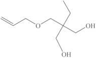 Trimethylolpropane, allyl ether