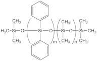 (23-26% DIPHENYLSILOXANE)- (74-77% DIMETHYLSILOXANE) COPOLYMER, 320-480cSt