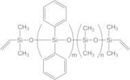 VINYL TERMINATED (1-2% DIPHENYLSILOXANE)-DIMETHYLSILOXANE COPOLYMER, 800-1,200 cSt