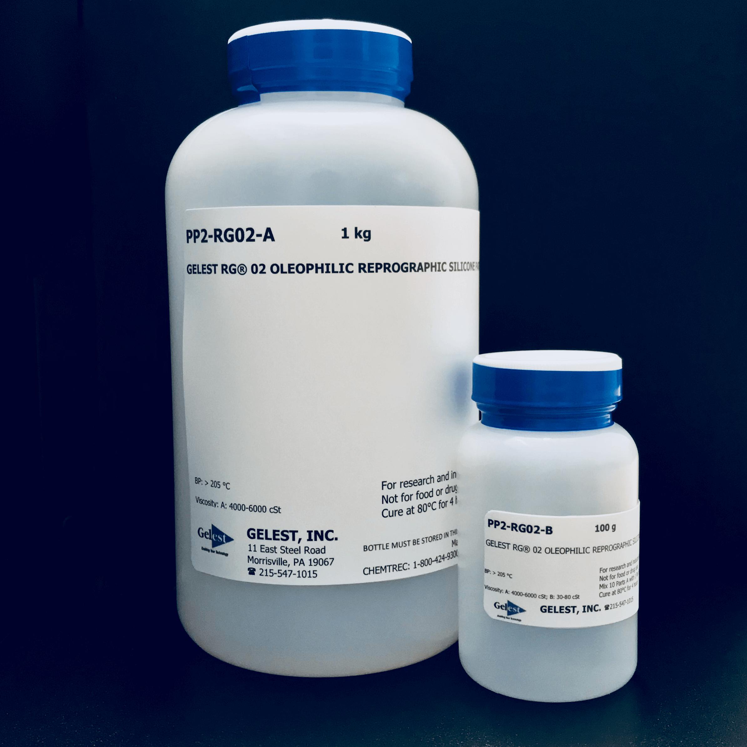Gelest® Rg 02: Oleophilic Reprographic Silicone Speedmixer 100G Kit