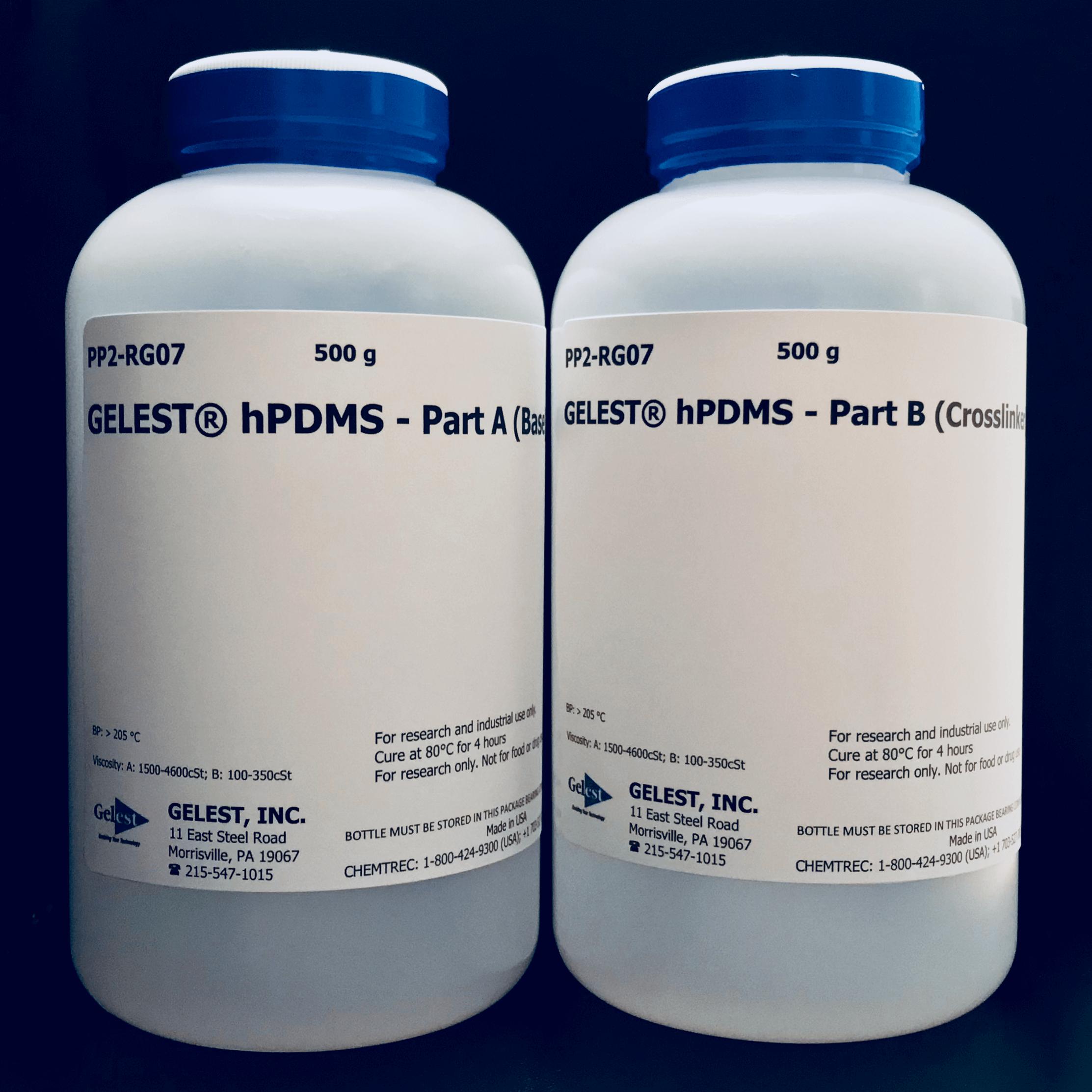 GELEST® hPDMS: HIGH MODULUS REPROGRAPHIC SILICONE 1kg Kit; Part B (Crosslinker)