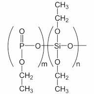 DIETHOXYSILOXANE-ETHYLPHOSPHATE copolymer