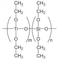 DIETHOXYSILOXANE-ETHYLTITANATE copolymer