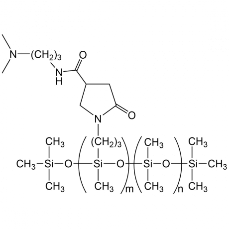 (N-PYRROLIDONEPROPYL)METHYLSILOXANE - DIMETHYLSILOXANE COPOLYMER, 150-300 cSt
