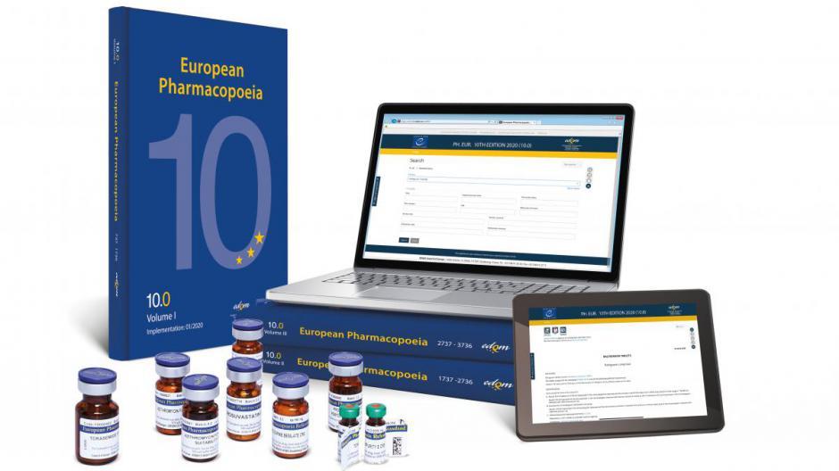 European Pharmacopoeia 10th Edition (10.0-10.1-10.2) - Book - English - Supplement 10.1