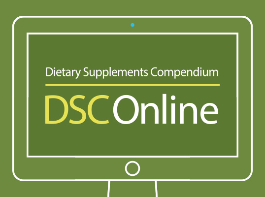 2019 Dietary Supplements Compendium (DSC) Online One-Year Single License