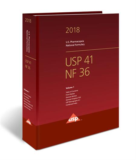 USP41-NF36 Print Subscription 2018 -English